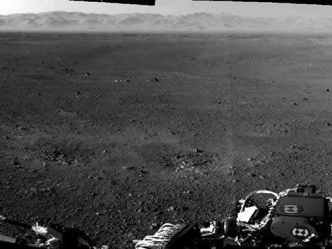 Curiosity Nasa foto de marte